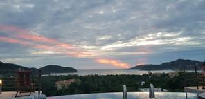 Post Vincente Sunset at Casa Arcoiris Zi