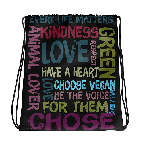 Every Life Matters  Drawstring Bag