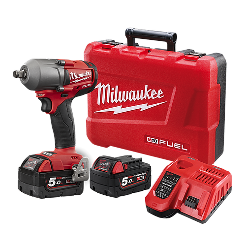"""Milwaukee M18 ½"""" Mid-Torque Impact wrench with friction ring kit"""