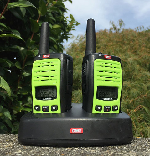 LIMITED OFFER! GME Twin set 1 Watt handheld radios