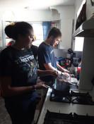 Day 1 (9/24/17) - Matt and Sabrina cook the yuca