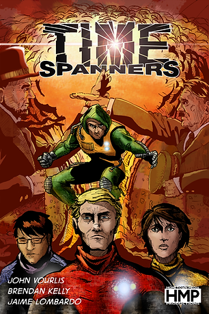 Time Spanners #1 Cover
