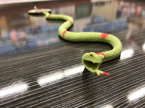 Stretchy Green Snake