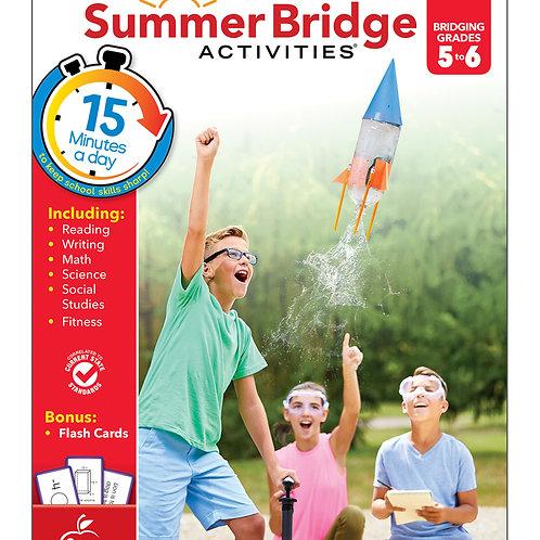 Summer Bridge Activities Grade 5-6