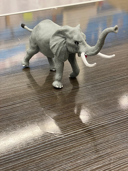 Small Elephant Figurine