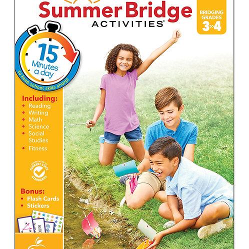 Summer Bridge Activities Grade 3-4