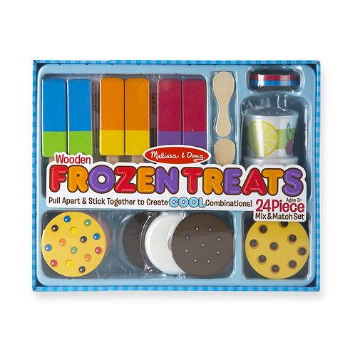 Wooden Frozen Treats Set