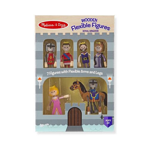 Wooden Flexible Figures - Royal Kingdom