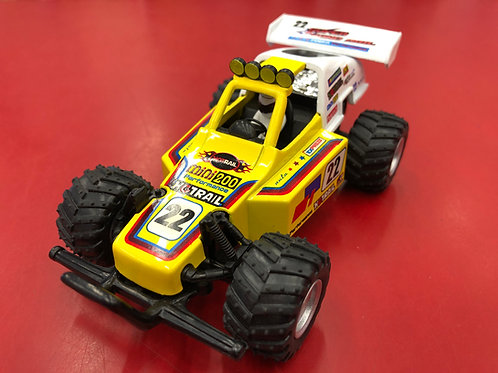 """PULL-BACK YELLOW 5"""" TURBO BUGGY"""