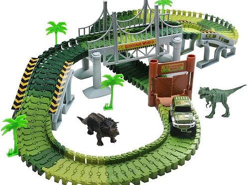 Dinosaur World Create A Road