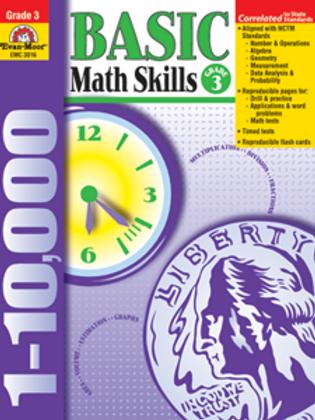 Basic Math Skills : Grade 3