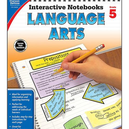 Interactive Notebooks: Language Art Grade 5