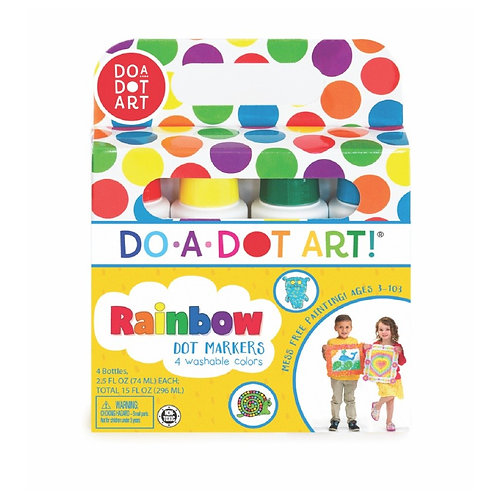 Do-A-Dot Markers Rainbow 4 Pack