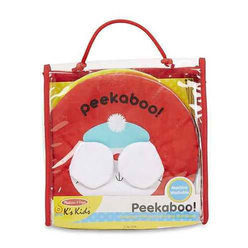 Peekaboo Soft Lift-A-Flap Book