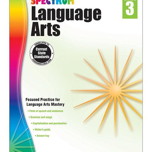Spectrum Language Arts Workbook Grade 3