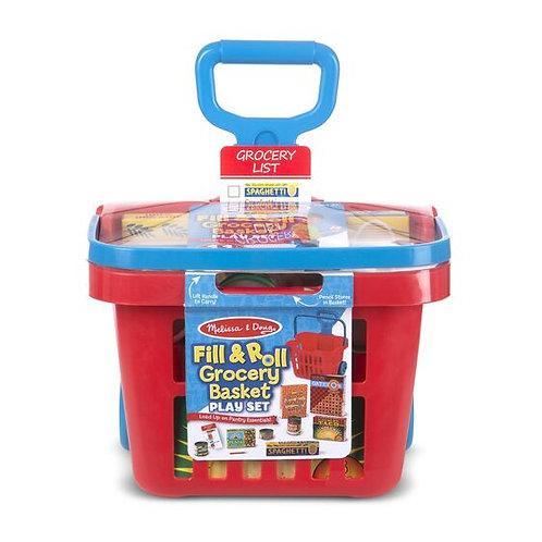 Fill & Roll Grocery Basket Set