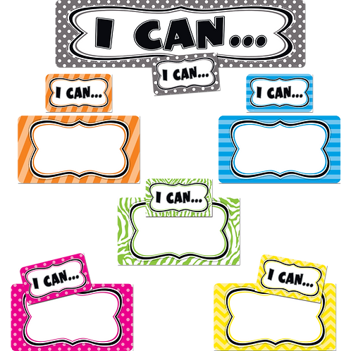 I Can...Mini Bulletin Board