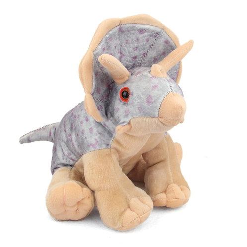 Triceratops 12 Inch Stuffed Dinosaur