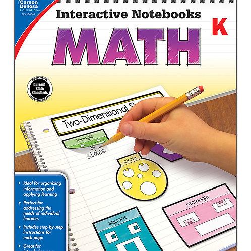Interactive Notebooks: Math Grade K