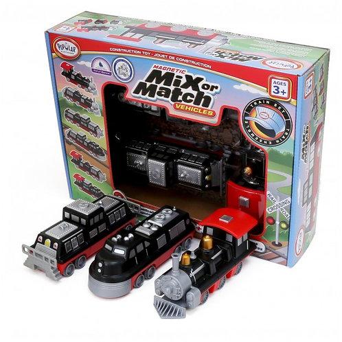 Mix or Match Train Vehicles