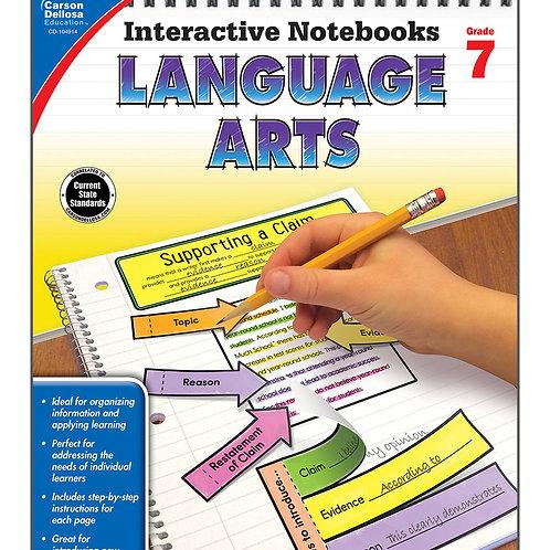 Interactive Notebooks: Language Arts Grade 7