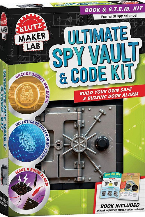 Maker Lab: Ultimate Spy Vault & Code Kit