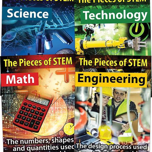 STEM Chart Set Grade 5-8