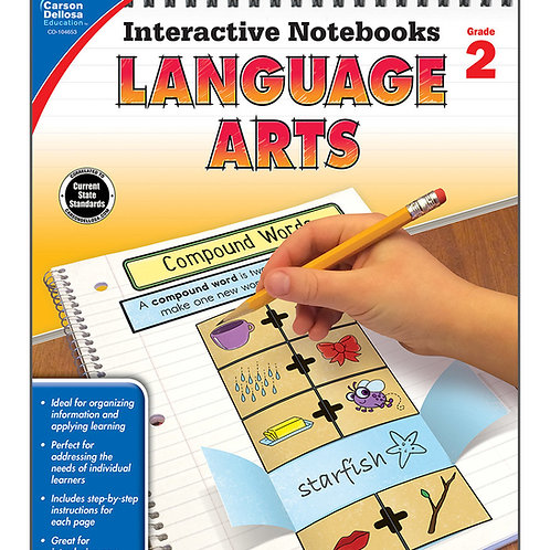 Interactive Notebooks: Language Arts  Grade 2