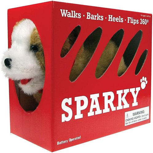 Sparky The Fabulous Flip Over Pet Dog