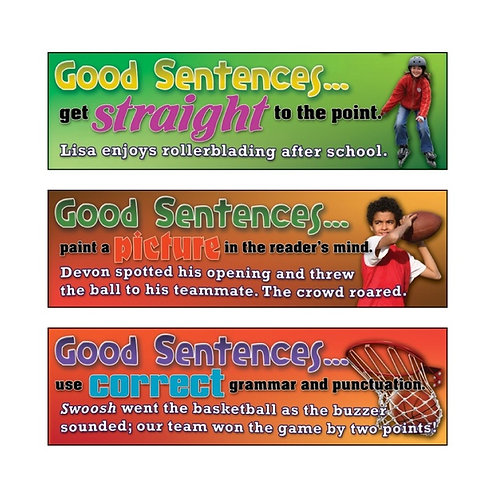 Good Sentences Mini Set