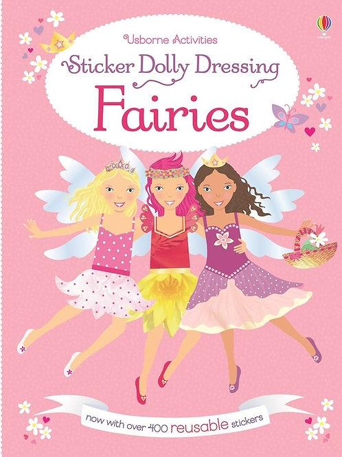 Sticker Dolly Dressing Fairies (Reusable)