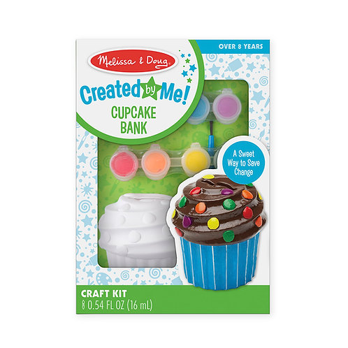 Created by Me! Cupcake Bank Craft Kit