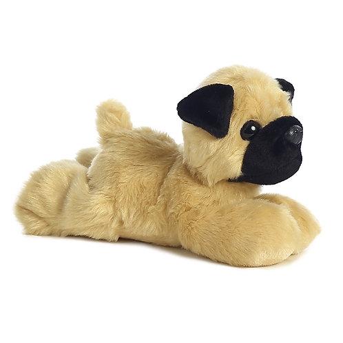 Little Pugster the Stuffed Pug Mini Flopsie