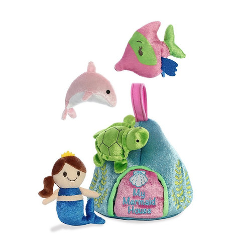 "Baby Talk - 6"" My Mermaid House"