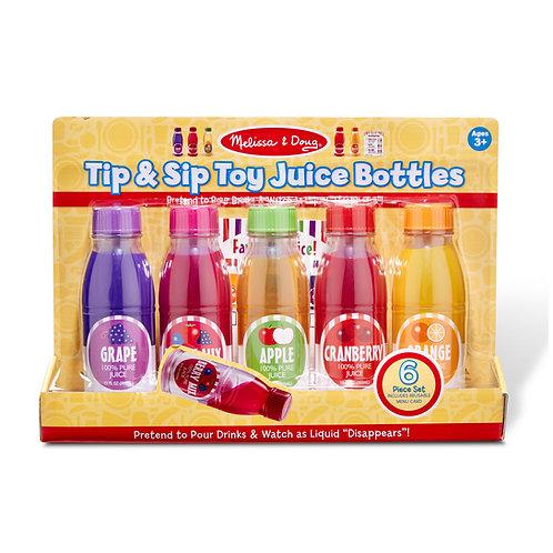 Tip & Sip Toy Juice Bottles