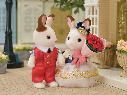 Calico Critters Town: Cute Couple Set