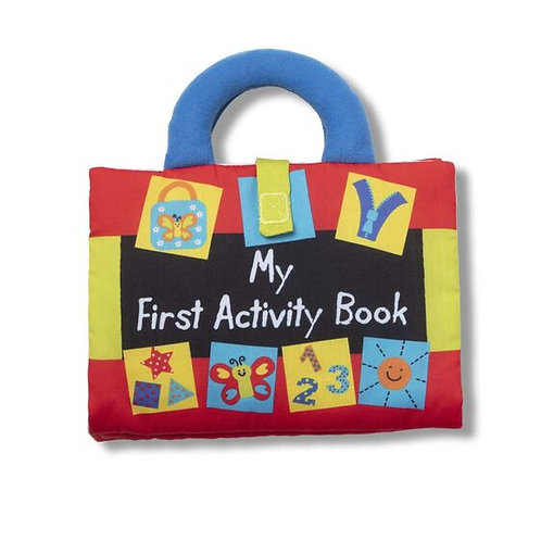 My First Activity Book Cloth Book
