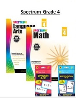 Spectrum 4th Grade Bundle