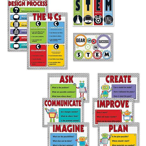 STEM Bulletin Board Set Grade K-5