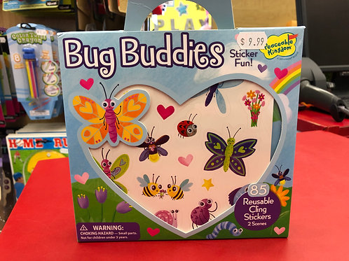 Bug Buddies! Reusable Cling Stickers