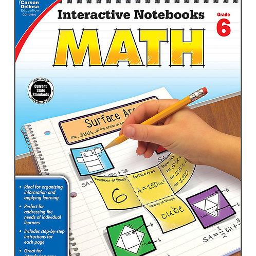 Interactive Notebooks: Math Grade 6