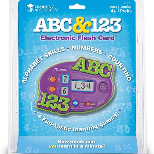 ABC & 123 Electronic Flash Card