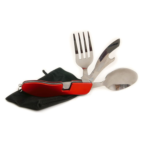 Pocket Knife, Fork and Spoon
