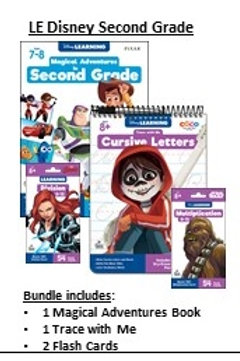 2nd Grade Disney Learning Bundle