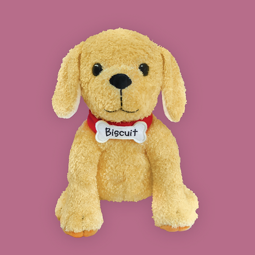 """Biscuit The Little Yellow Puppy 10"""" Plush"""