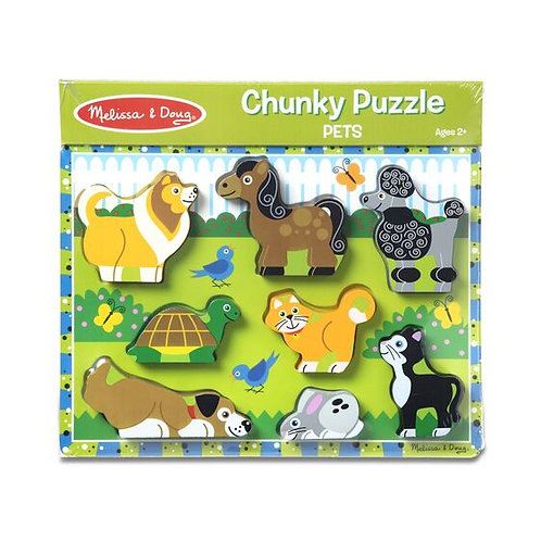 Chunky Puzzle: Pets