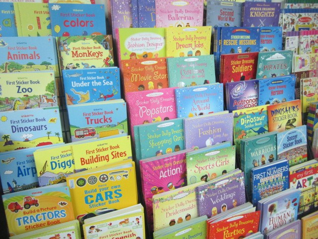 Usborne Sticker Books