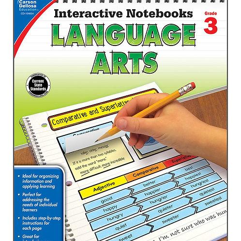 Interactive Notebooks: Language Arts Grade 3