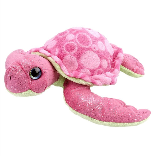 Pink Stuffed Sea Turtle