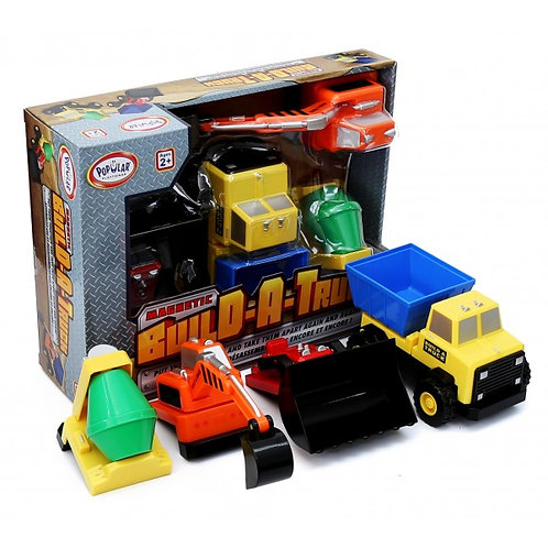 Magnetic Build a Truck Construction
